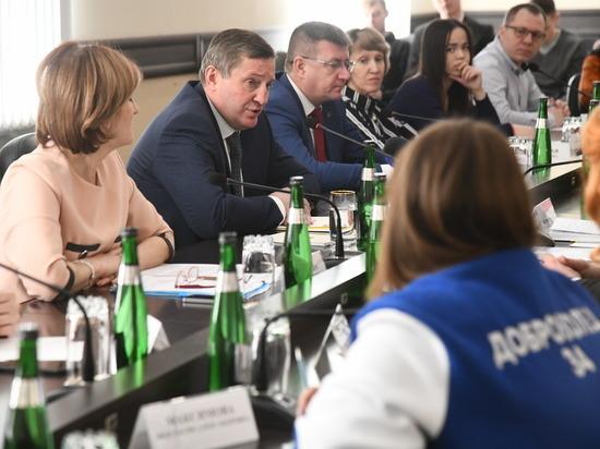 Андрей Бочаров обсудил с волонтерами противодействие коронавирусу