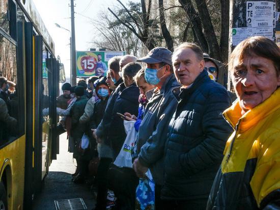 Эвакуация россиян из Украины пройдет на фоне массовых протестов