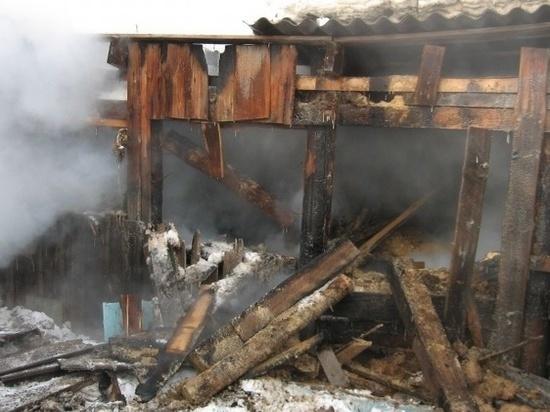 Рано утром в Ивановской области произошли два пожара