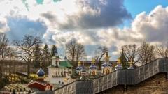 Обращение митрополита Тихона к паломникам Псково-Печерского монастыря