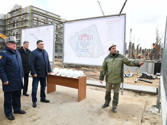 В Твери завершили строительство главного корпуса нового Суворовского училища