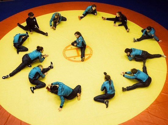 В Алуште на учебно-тренировочных сборах побывали олимпийские надежды страны в вольной борьбе