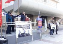 Митинг против обнуления сроков президента провели в Чите