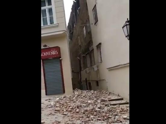 В Загребе произошло сильное землетрясение