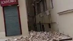 В Хорватии произошло мощное землетрясение: кадры разрушений