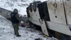 В Тамбовской области неудачно разминулись два рейсовых автобуса: видео ДТП