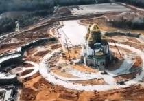 Шойгу рассказал об удивительных иконах и символах главного храма Вооруженных сил