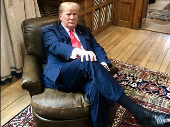 """Трамп """"немного сердится"""" на Китай из-за коронавируса"""