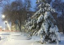 23 марта весь день в Саратовской области будет идти снег
