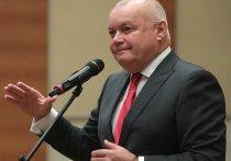 Ведущий программы «Вести недели» на телеканале «России-1» Дмитрий Киселев заявил, что коронавирус SARS-CoV-2 передается половым путем