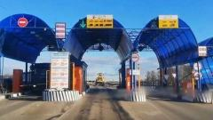 В Рязани водитель специально снес шлагбаум на платном путепроводе