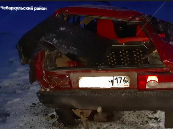 Молодой мужчина погиб в ДТП в Челябинской области
