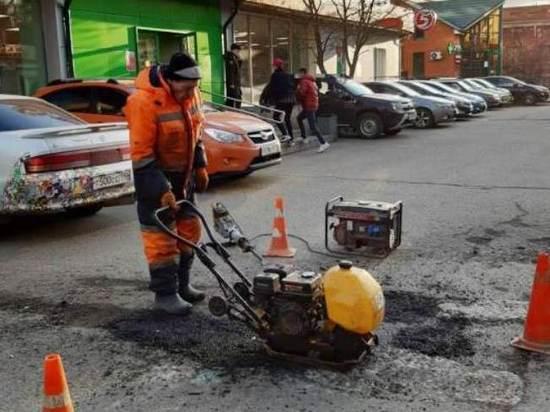 Сезонный ямочный ремонт начался в Серпухове