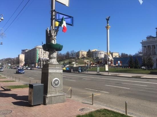 Коронавирус парализовал Киев: ни транспорта, ни банков