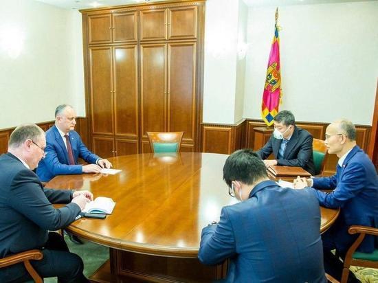 Китай оказывает Молдове гуманитарную помощь