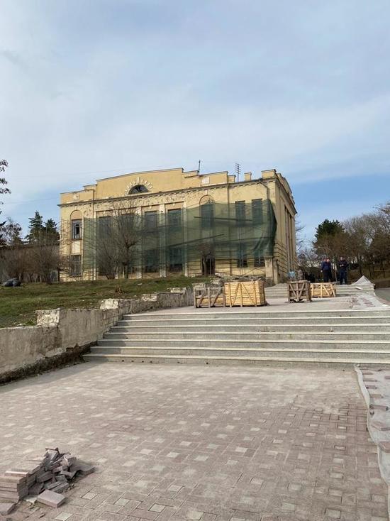 Реставрация и реконструкция коснулась старинного здания в Кисловодске
