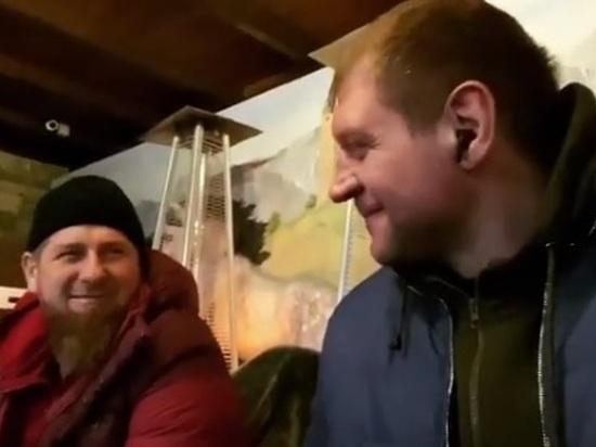Емельяненко и Кадыров устроили себе сладкий праздник