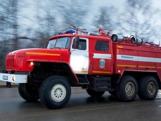 Сообщение о возгорании поступило на пульт единой дежурной службы вчера, 23 марта, в половине седьмого вечера из Кохмы