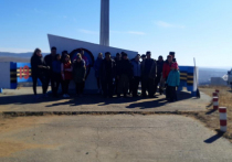 «Народный фронт» в Бурятии устроил субботник на смотровой площадке