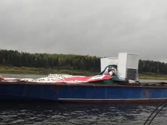 Водитель катера протаранил танкер и погубил своего пассажира