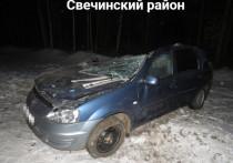 В Свечинском районе двое погибли в ДТП