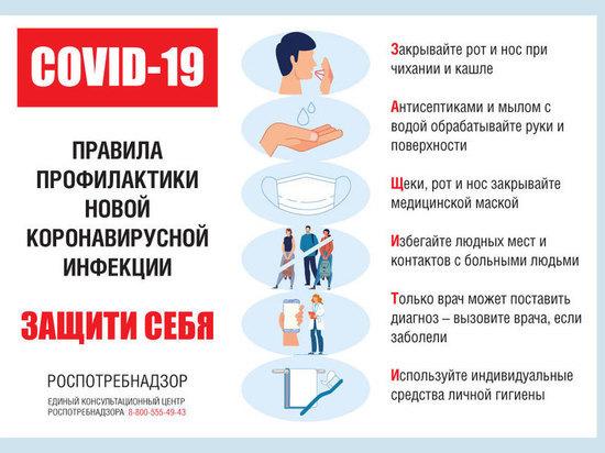 Жителям Тверской области рассказали о профилактике коронавируса