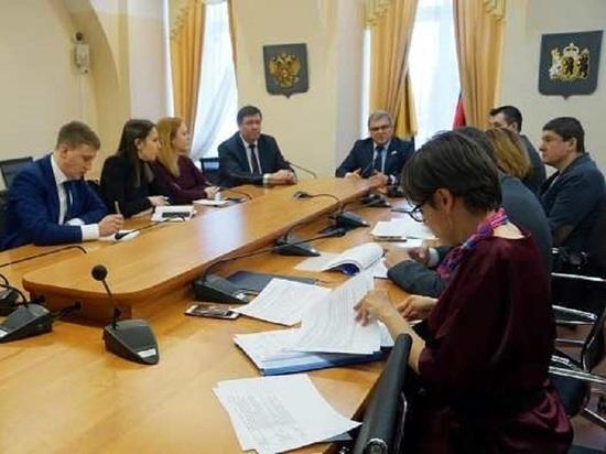 Алексей Константинов провел совещание по мерам противодействия распространению коронавируса