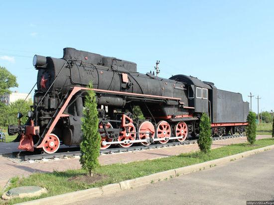 В Рыбинске на площади поставят паровоз