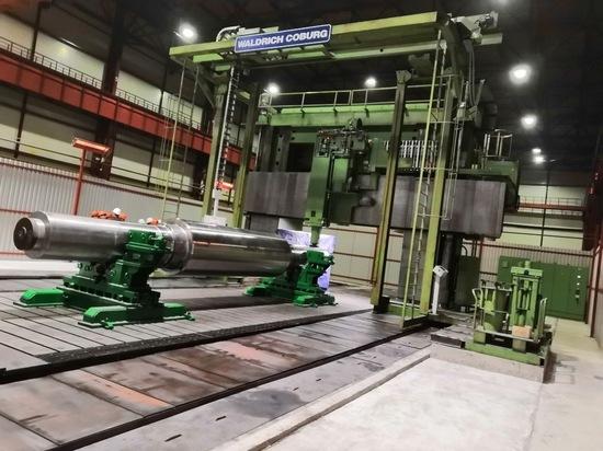 Кушвинский завод первым в стране освоил производство особо крупных прокатных валков