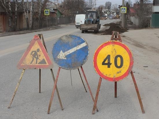 Дорожники продолжают вести ямочный ремонт на улицах Йошкар-Олы