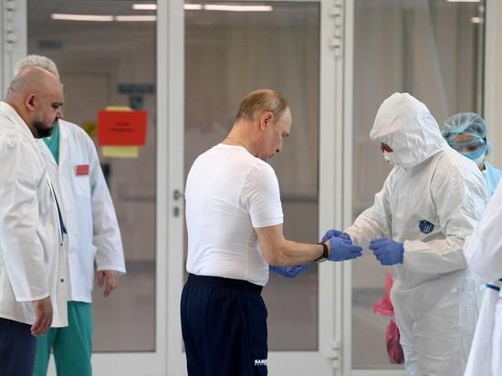 Пациент Коммунарки рассказал, о чем с ним говорил Путин