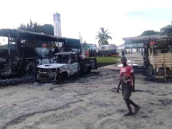Боевики ИГИЛ захватили город в Мозамбике