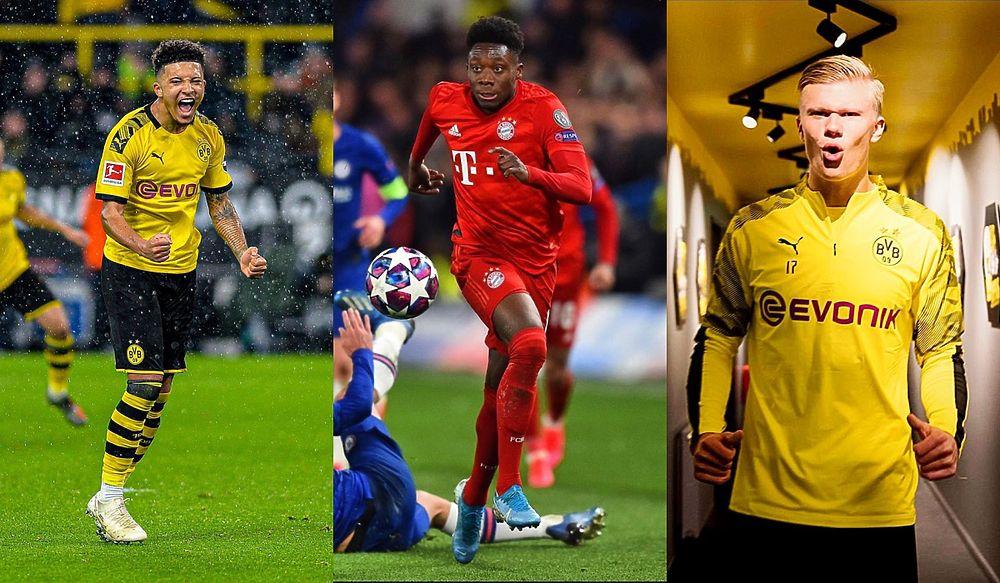 Джейдону Санчо — 20: он и другие самые дорогие тинейджеры в футболе