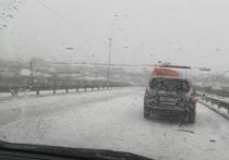 Движение затруднено из-за снега на четырех участках дорог в Забайкалье