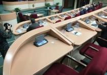Саратовские депутаты демонстративно отказались выступать, чтобы не распространять коронавирус