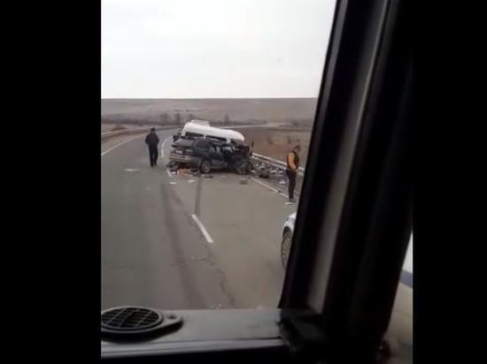 Автокатастрофа произошла на трассе под Чернышевском