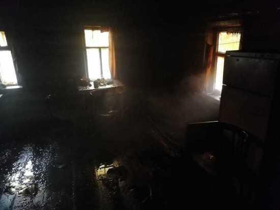 Хозяин дома погиб при пожаре в Чувашии