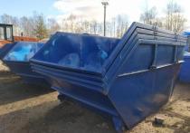 В частном секторе установят восемь контейнеров для мусора