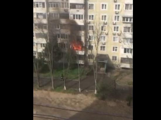 Из горящей многоэтажки в Краснодаре спасли 15 человек