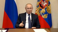 Путин объявляет перенос голосования по Конституции: мимика президента