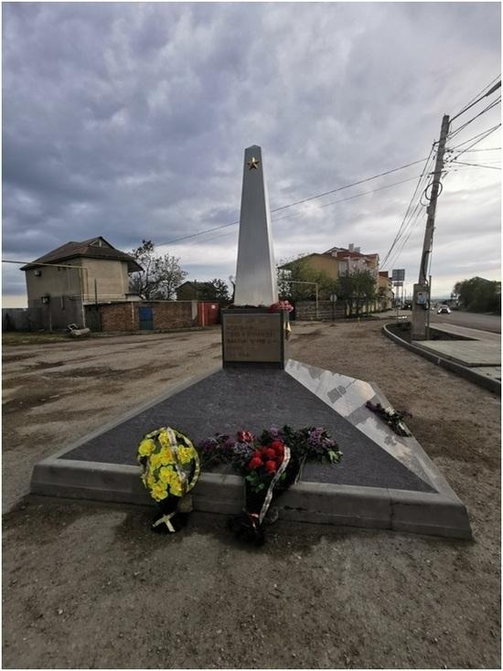 В Приморском установят стелу с именами освободителей поселка