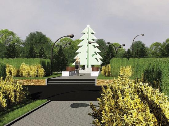 В Некрасовке установят всесезонную елку-фонарь