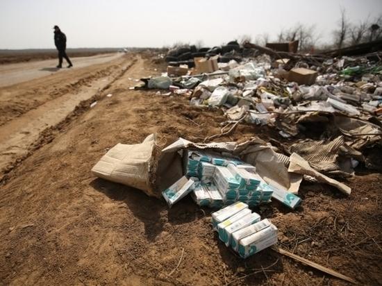 Незаконную свалку лекарств обнаружили в Волгограде
