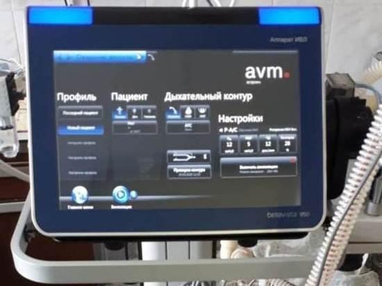 В Медвежьегорск поступил первый из 15 аппаратов  ИВЛ