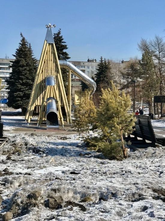 Два сквера в Новокузнецке отремонтируют и благоустроят