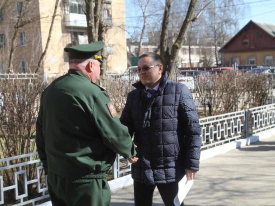 В Калуге открыли отдельный призывной пункт