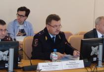 Тюменским парламентариям рассказали о работе полиции