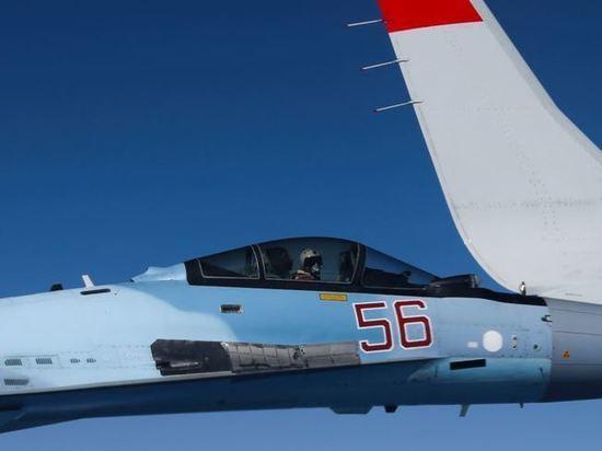 У берегов Крыму потерпел крушение военный самолет России