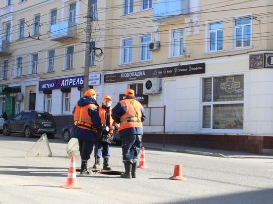 На Луначарского в Калуге заменят коммуникации