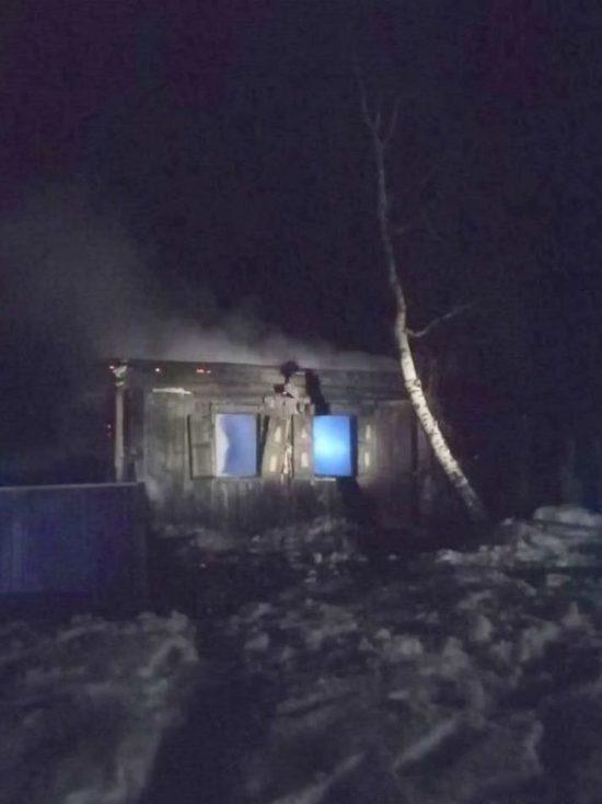 В Башкирии жертвами пожара стали двое мужчин